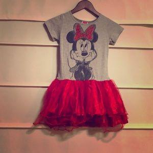 Girls Disney Minnie Mouse Tutu Dress